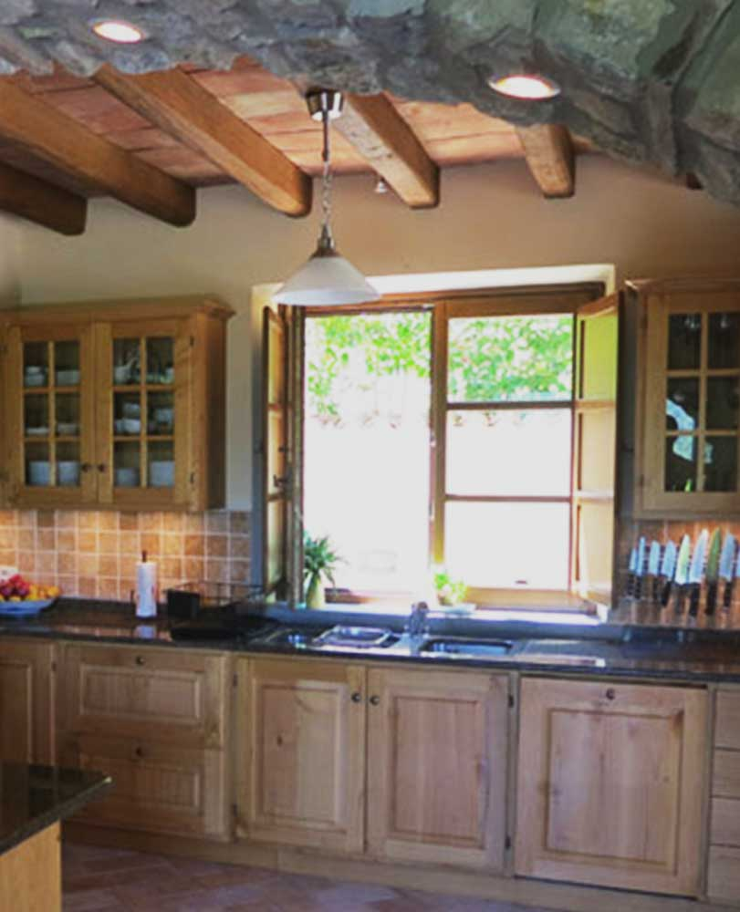 Casa Lucia Tuscany Kitchen