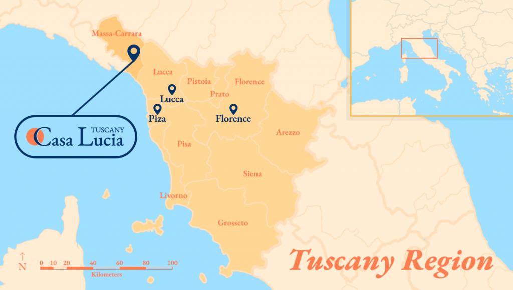 Casa Lucia Tuscany Region