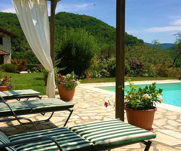 Casa Lucia Tuscany Sun-beds
